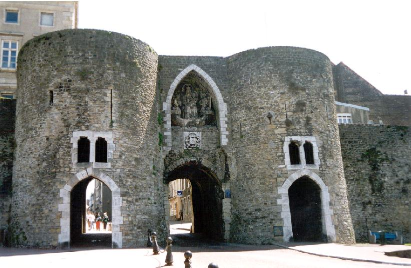 Medieval Gate of Old Boulogne