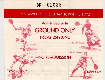 Grounds Ticket